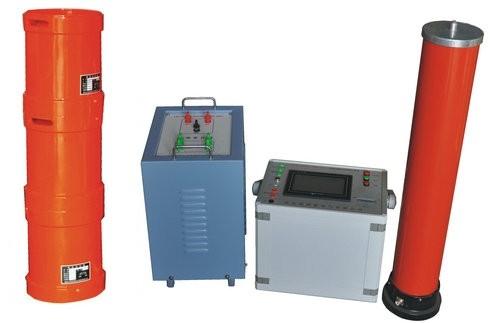 谐振升压装置控制源采用变频控制源,其输出频率为30~300hz, ●电抗器